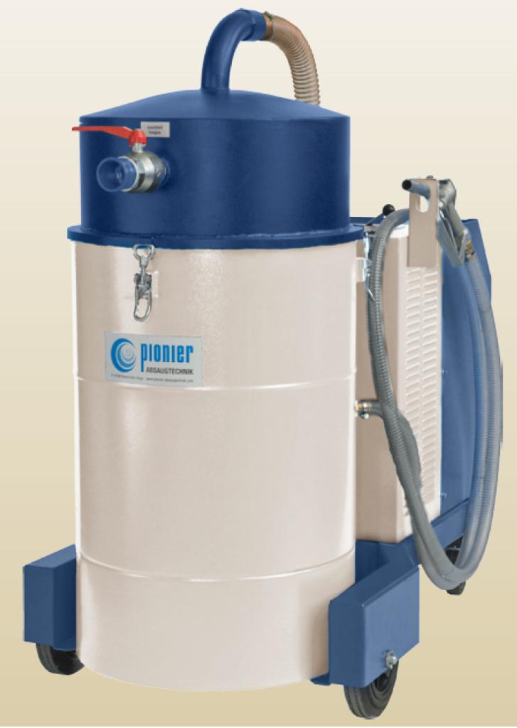 HYDROvac do cieczy, wody, oleju, emulsji i wiórów od 3kw do 5,5 kw.