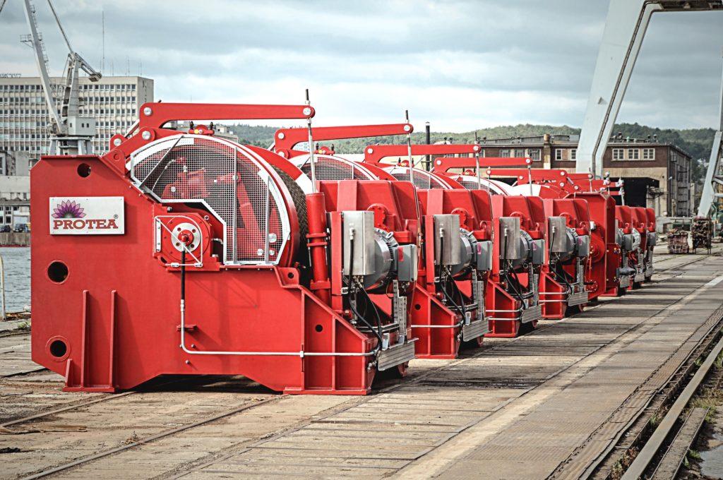 Urządzenia portowe i offshore